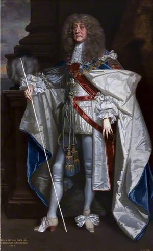 Henry Jermyn (d.1684), 1st Earl of St Albans, KG, in Garter Robes