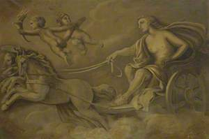 Apollo in His Chariot
