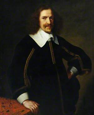 Portrait of an Unknown Gentleman in Black