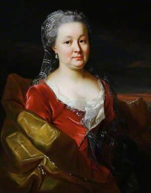 Jeanne Esther Dunz (c.1707–1779), Madame la Baronne d'Hervart