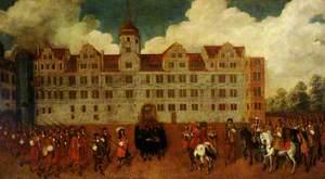 The Residenzschloss, Dresden: Facade