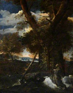 Wild Landscape with Saint Francis Receiving the Stigmata