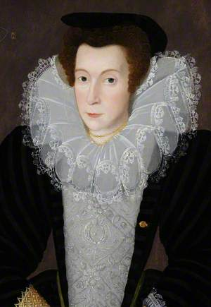 Portrait of an Unknown Lady in a Large Lace Ruff