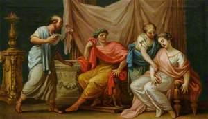 Virgil Reading the Aeneid to the Emperor Augustus, His Wife Livia and His Fainting Sister, Octavia