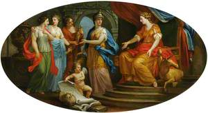 Minerva Presenting the Personifications of the Arts of Painting, Gardening, Sculpture and Architecture to Britannia