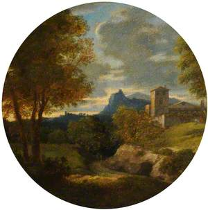 A Classical Landscape: Evening