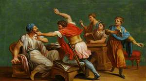 An Unidentified Classical Subject: A Fight