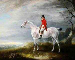 William Rutson (1791–1867), on a Grey Hunter