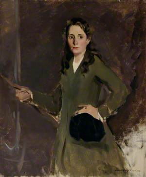 Miss Kay Abbs (1901–1974), in Riding Habit