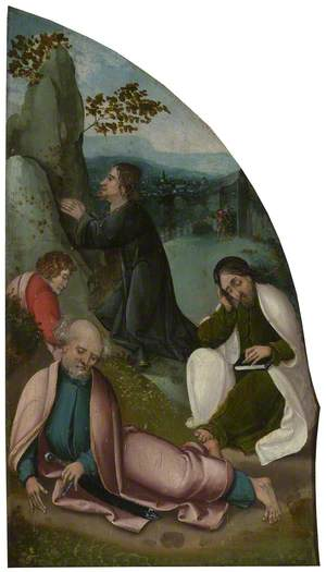 The Oxburgh Retable: The Agony in the Garden