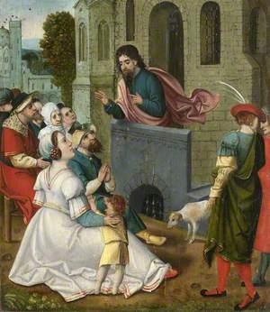 The Oxburgh Retable: St James Preaching