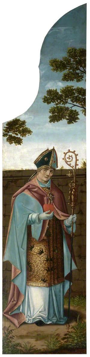 The Oxburgh Retable: Saint Augustine