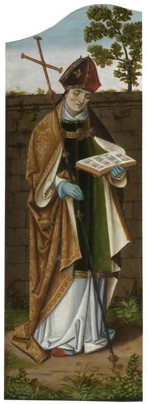 The Oxburgh Retable: Saint Ambrose