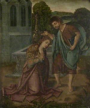 The Oxburgh Retable: The Conversion of Saint Barbara