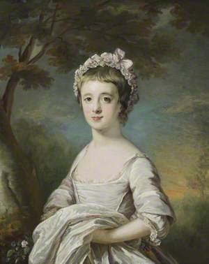 Anna Maria Astley (c.1760–1768), as a Girl