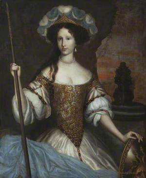 Elizabeth Washington (c.1655–1693), Lady Ferrers, as Minerva