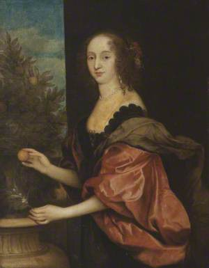 Portrait of an Unknown Lady in the Pose of Dorothy, Countess of Sunderland