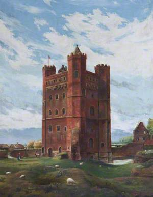 Tattershall Castle, Lincolnshire, from the North East