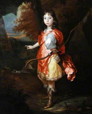Portrait of an Unknown Boy as Apollo