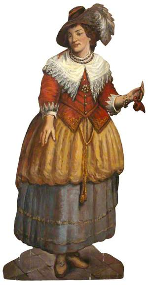 A Fanciful Figure of a Dutch Lady