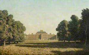 View of the North Facade, Wimpole Hall, Cambridgeshire