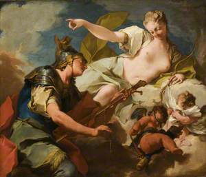 Venus Giving Armour to Aeneas