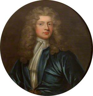 Portrait of a Young Man in Blue