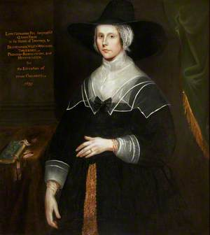 Catherine Lucas (1617–1701/1702), Lady Pye, 'Dame Catherine Pye'