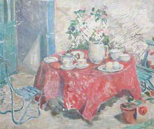 Still Life with a Laid Table