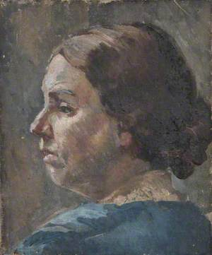 Head Study of an Unknown Woman