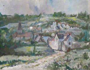 View of a Village in France
