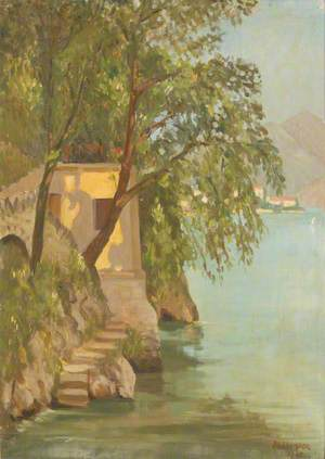 Lakeside Scene, Lake Como (I)