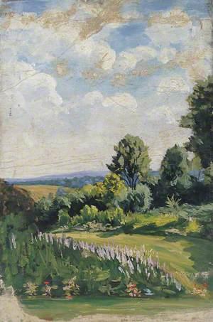 English Garden Scene