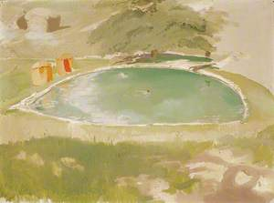 The Bathing Pool at Chartwell