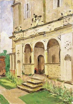 The Porch at Cranborne Manor, Dorset