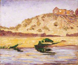 Coast Scene with a Ruined Building