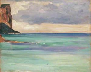 Calm Sea near Marseilles