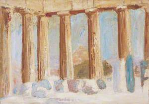 Pillars of a Ruined Doric Temple