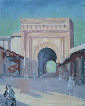 A Town Gate at Marrakech