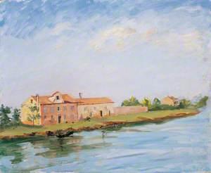 River Landscape near Venice