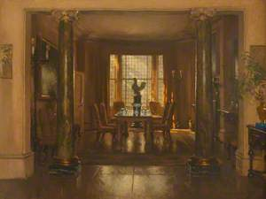 View of a Room in Lady Randolph Churchill's House, Westbourne Street, Sussex Square