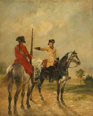 Two Cavalry Officers