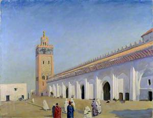 The Mosque at Marrakech