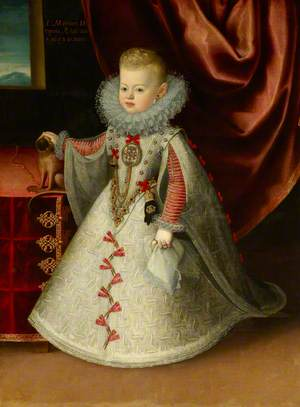 Maria Anna (1606-1646), Infanta of Spain, Later Archduchess of Austria, Queen of Hungary and Empress, as a Child