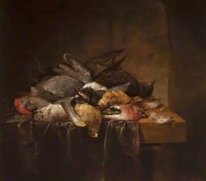 Dead Songbirds on a Table