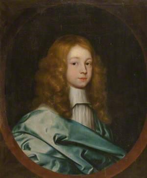 Portrait of an Unknown Boy in a Light Blue Mantle