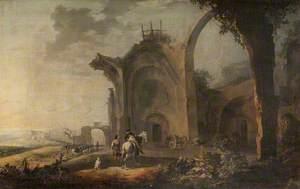 Landscape in the Campagna