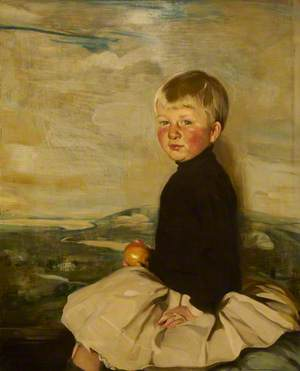 Master Anthony Bacon, Aged 3 (Anthony W. Bacon, Son of Thomas W. Bacon, 1873–1950, of Ramsden Hall, Essex)