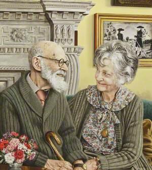 Sir Felix (John Morgan) Brunner (1897–1982), 3rd Bt, and (Dorothea) Elizabeth Irving (1904–2003), Lady Brunner