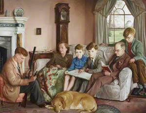 The Brunner Family (Sir Felix John Morgan Brunner, 1897–1982, 3rd Bt, and His Wife, Dorothea Elizabeth Irving, 1904–2003, Lady Brunner, with Their Four Sons, Sir John Henry Kilian Brunner, b.1927, Later 4th Bt, Timothy Barnabas Hans Brunner, 1932–1960, Daniel Felix Brodribb Brunner, 1933–1976, and Hugo Lawrence Joseph Brunner, b.1935)